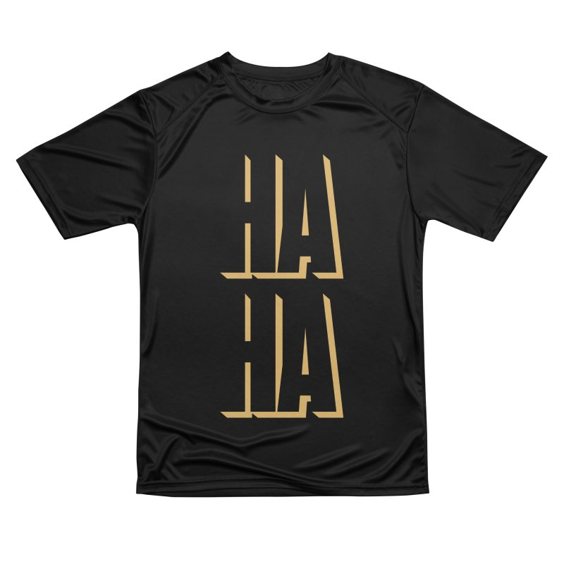 HAHA Men's T-Shirt by Anthony Petrie Print + Product Design