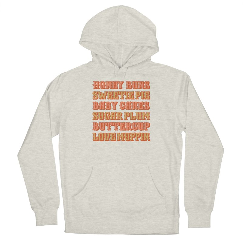 HONEY BUNS SWEETIE PIE Women's Pullover Hoody by Anthony Petrie Print + Product Design