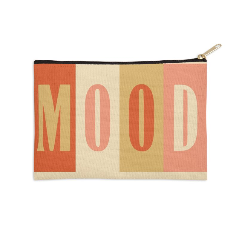 MOOD Accessories Zip Pouch by Anthony Petrie Print + Product Design