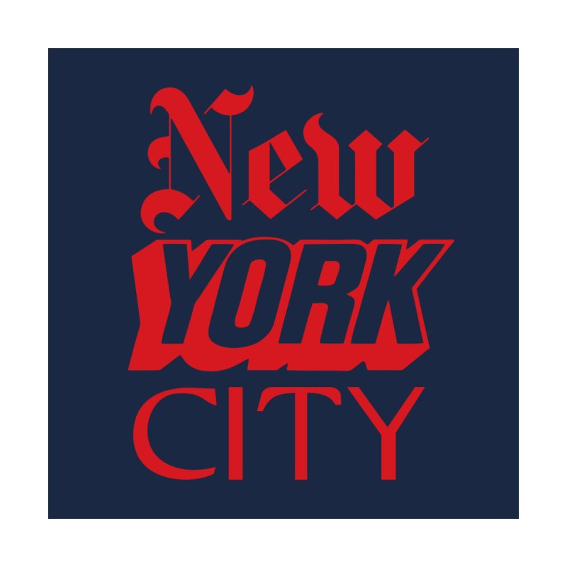 NEW YORK CITY Women's Zip-Up Hoody by Anthony Petrie Print + Product Design