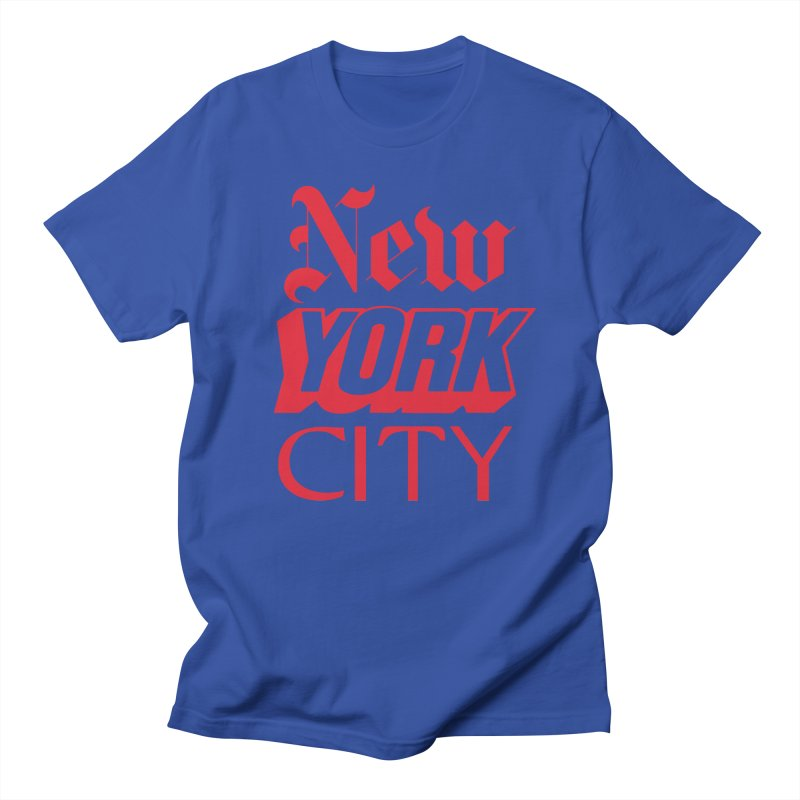NEW YORK CITY Men's T-Shirt by Anthony Petrie Print + Product Design