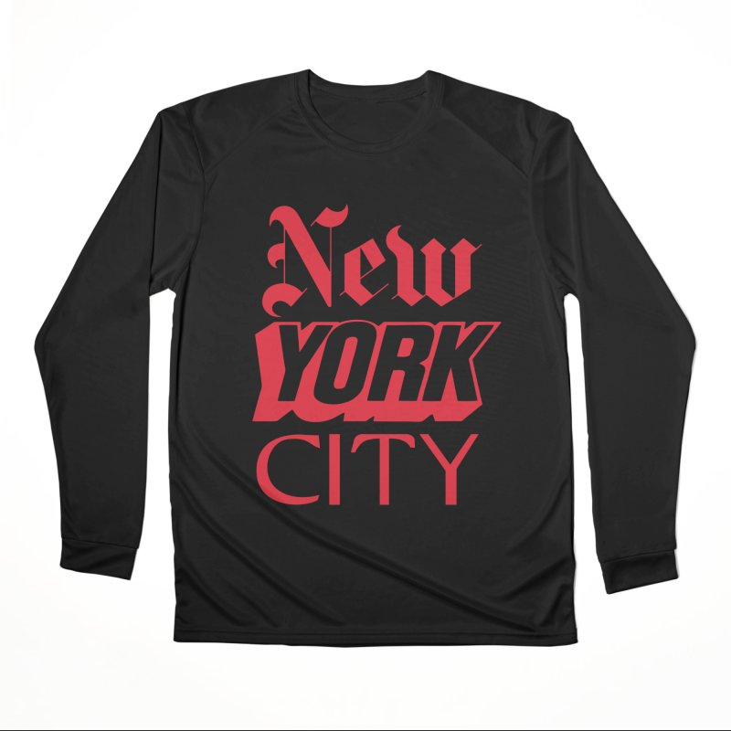 NEW YORK CITY Women's Longsleeve T-Shirt by Anthony Petrie Print + Product Design