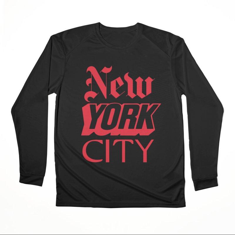 NEW YORK CITY Men's Longsleeve T-Shirt by Anthony Petrie Print + Product Design