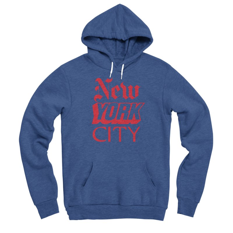 NEW YORK CITY Women's Pullover Hoody by Anthony Petrie Print + Product Design