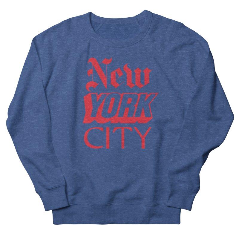 NEW YORK CITY Women's Sweatshirt by Anthony Petrie Print + Product Design