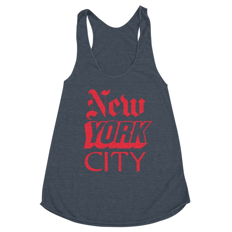NEW YORK CITY Women's Tank by Anthony Petrie Print + Product Design