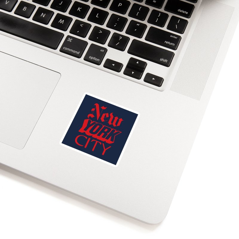 NEW YORK CITY Accessories Sticker by Anthony Petrie Print + Product Design