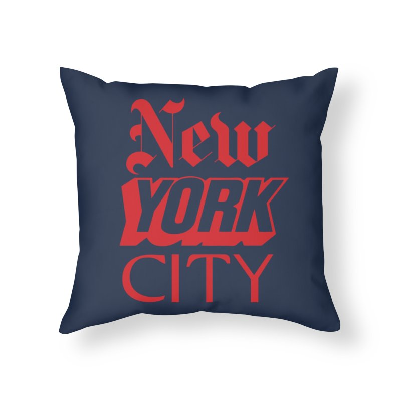 NEW YORK CITY Home Throw Pillow by Anthony Petrie Print + Product Design