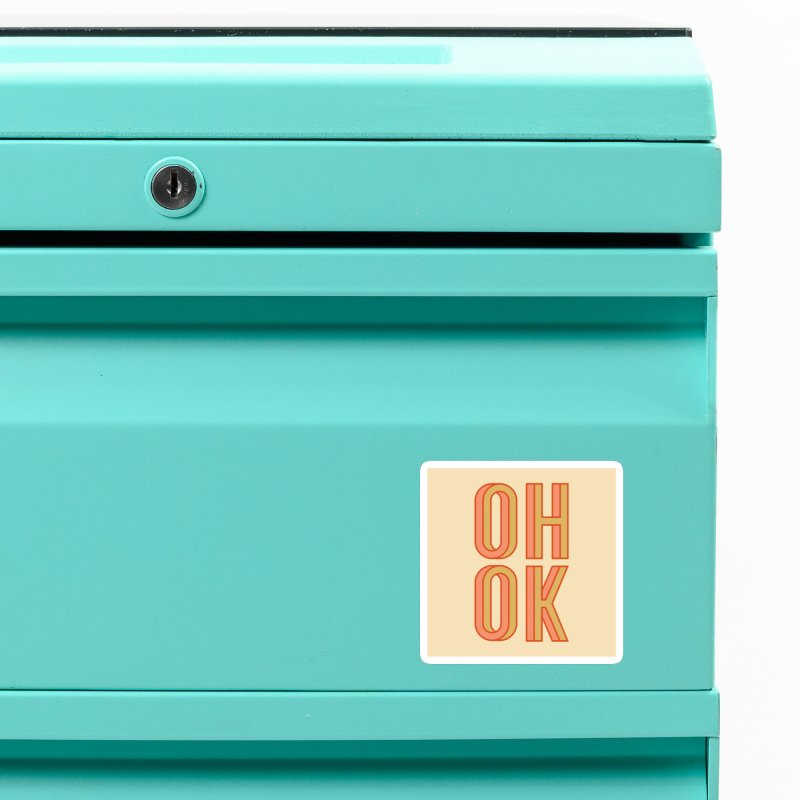 OH OK Accessories Magnet by Anthony Petrie Print + Product Design