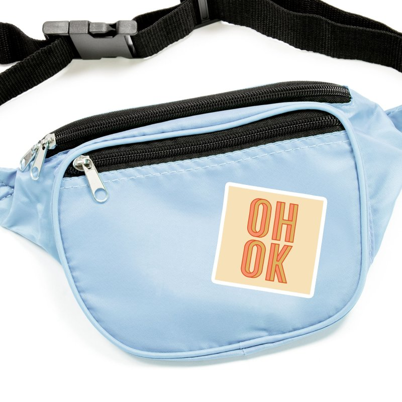 OH OK Accessories Sticker by Anthony Petrie Print + Product Design
