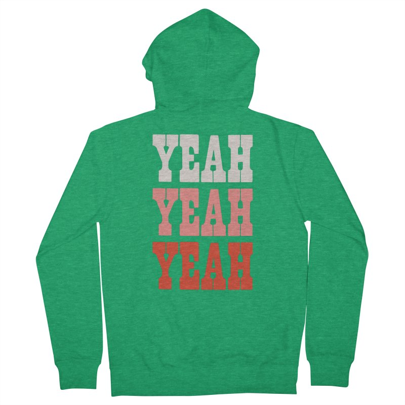 YEAH YEAH YEAH Women's Zip-Up Hoody by Anthony Petrie Print + Product Design