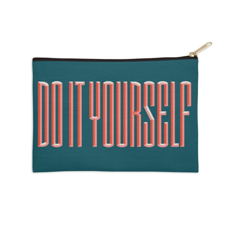 DO IT YOURSELF Accessories Zip Pouch by Anthony Petrie Print + Product Design