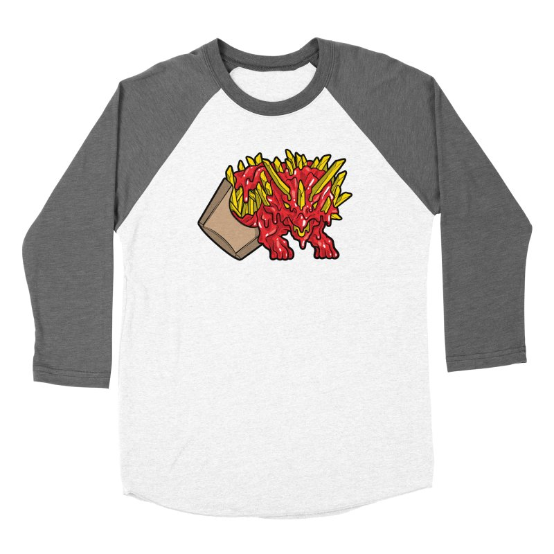 Feast Beasts - Fryceratops Women's Longsleeve T-Shirt by Anthony Petrie Print + Product Design
