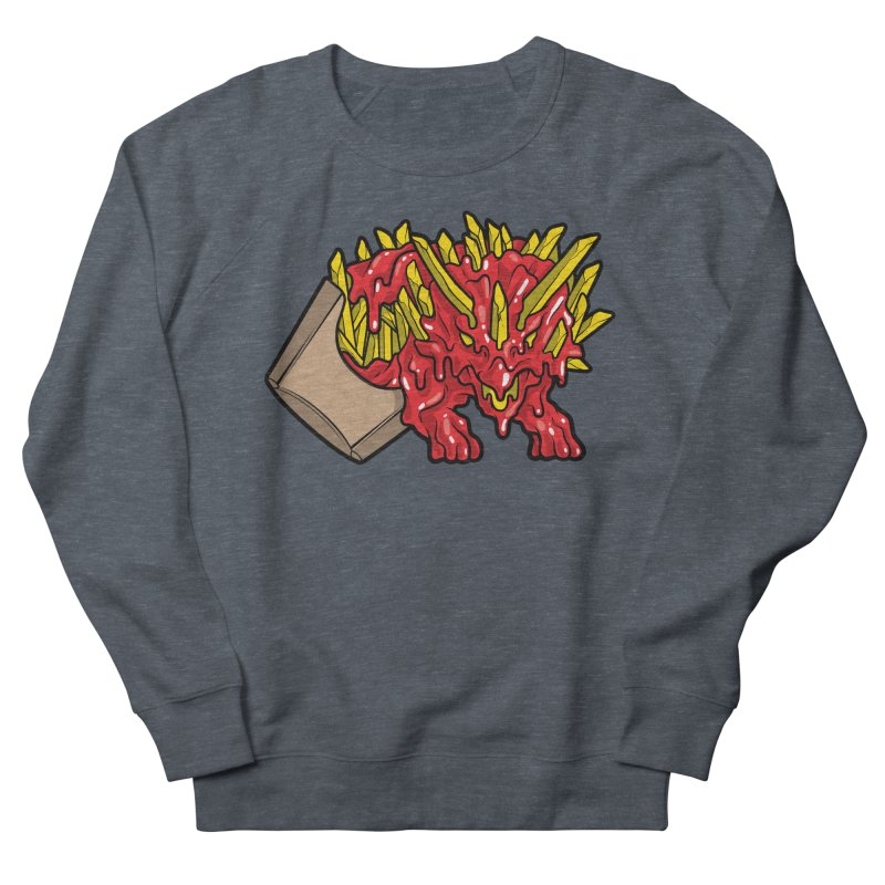 Fryceratops Women's French Terry Sweatshirt by Anthony Petrie Print + Product Design
