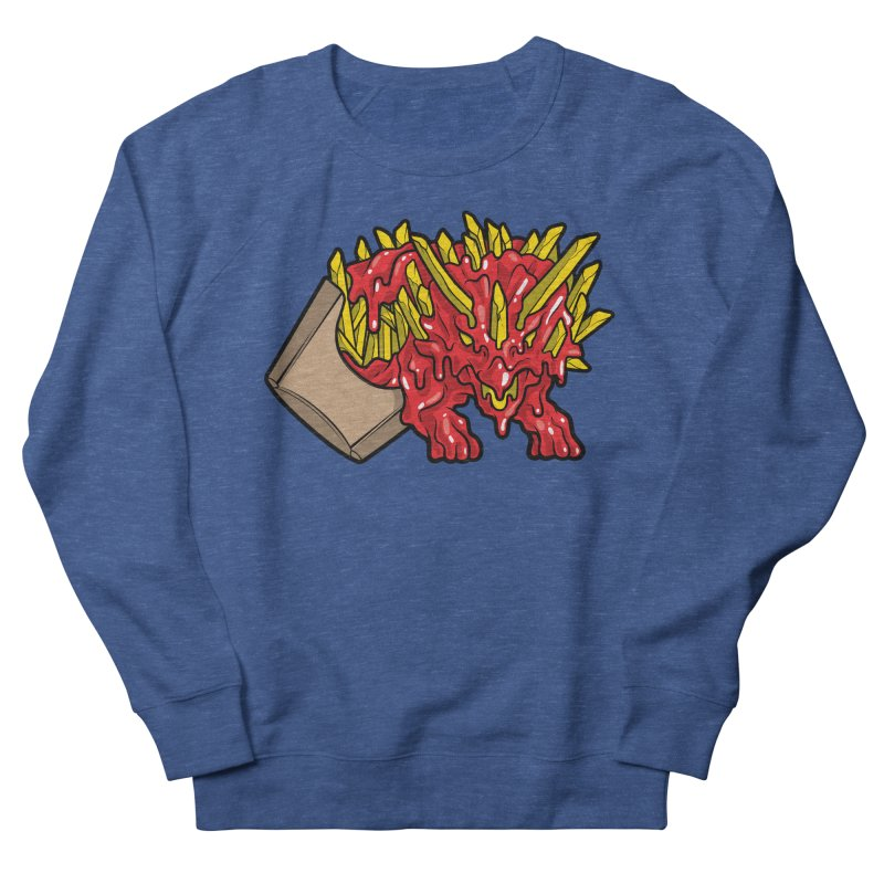 Feast Beasts - Fryceratops Men's Sweatshirt by Anthony Petrie Print + Product Design