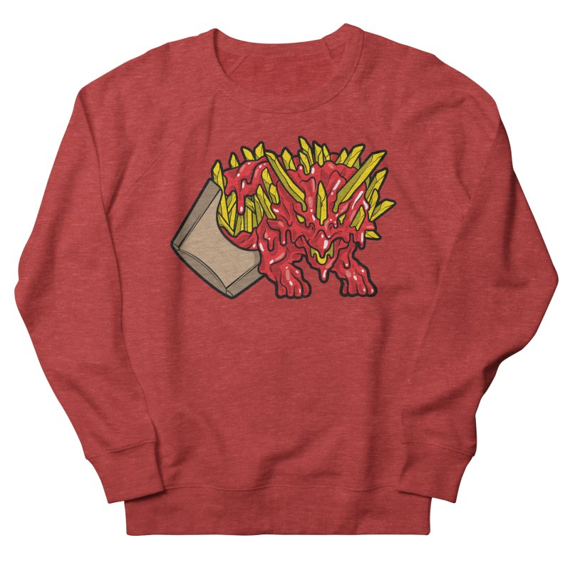 Fryceratops Men's French Terry Sweatshirt by Anthony Petrie Print + Product Design