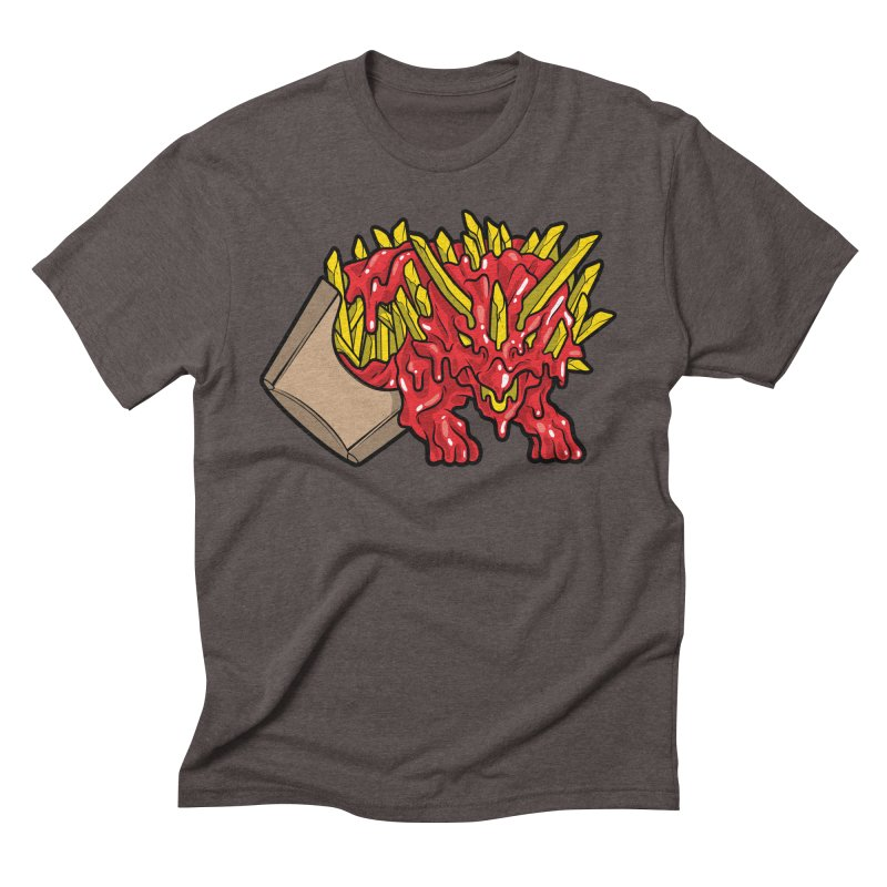 Fryceratops Men's Triblend T-Shirt by Anthony Petrie Print + Product Design