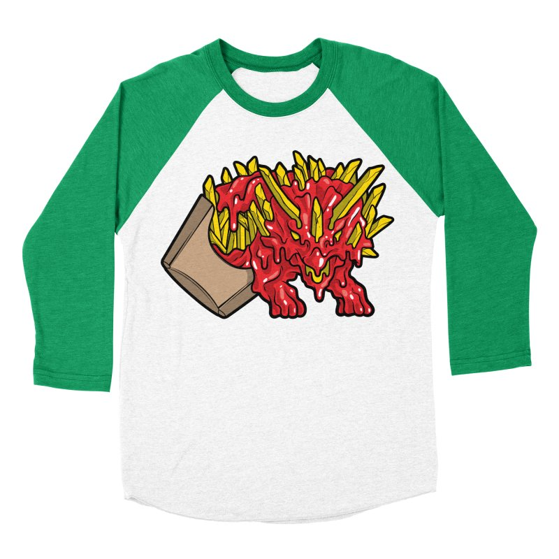Fryceratops Women's Baseball Triblend T-Shirt by Anthony Petrie
