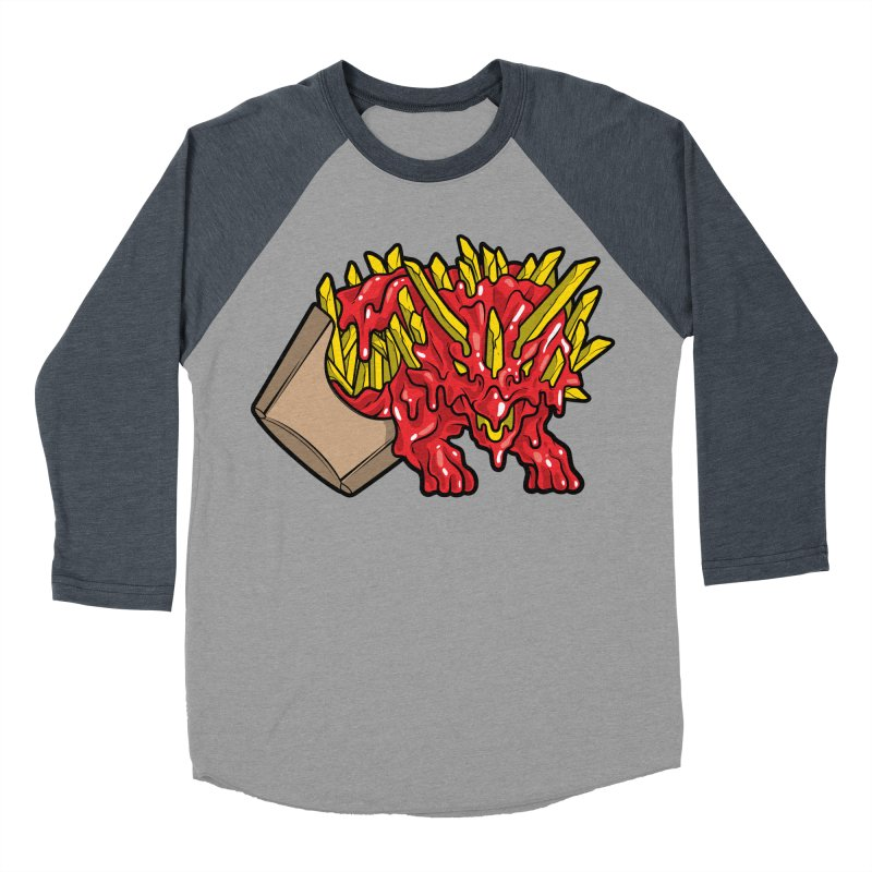 Fryceratops Women's Baseball Triblend Longsleeve T-Shirt by Anthony Petrie Print + Product Design