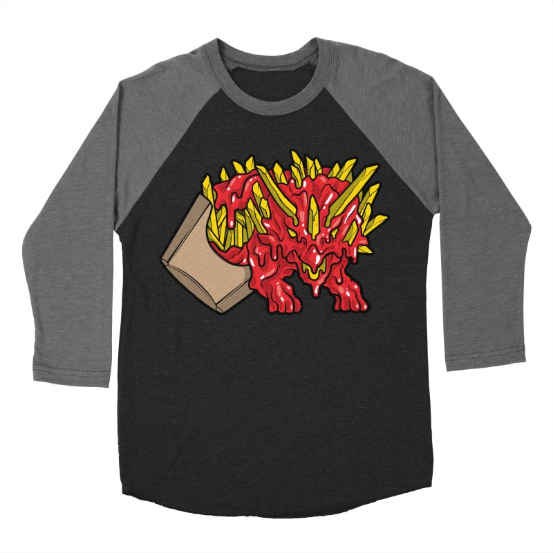 Fryceratops Men's Baseball Triblend T-Shirt by Anthony Petrie Print + Product Design