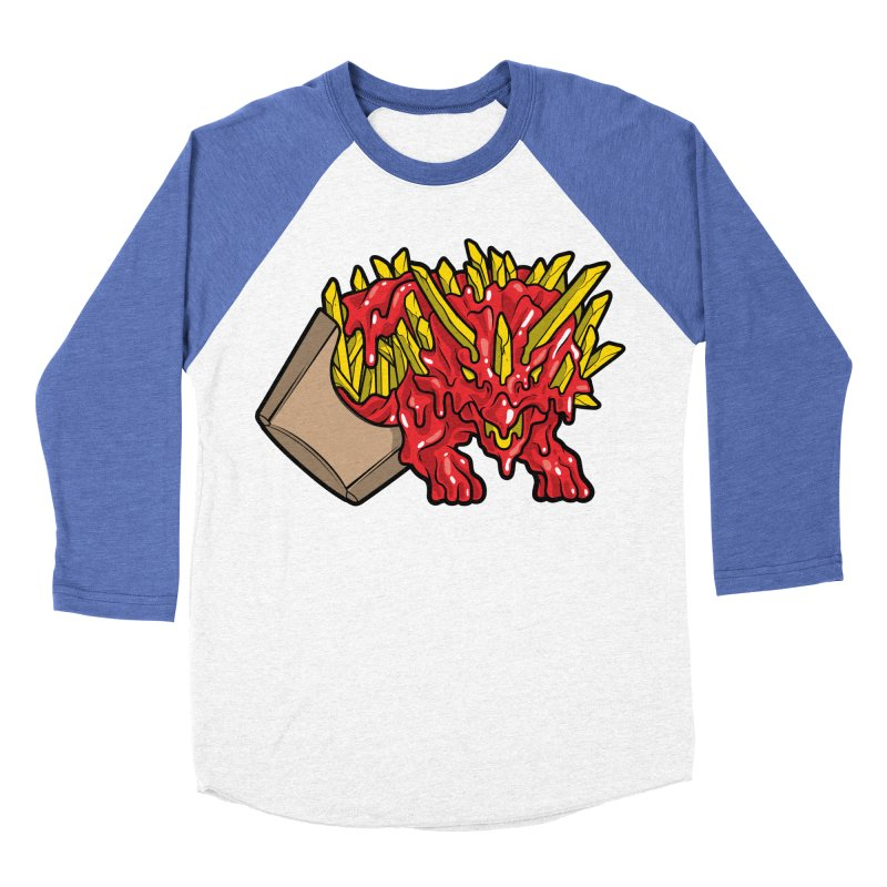 Fryceratops Men's Baseball Triblend T-Shirt by Anthony Petrie