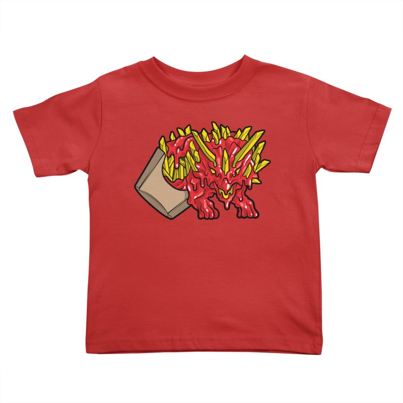Fryceratops Kids Toddler T-Shirt by Anthony Petrie