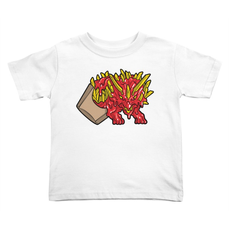 Fryceratops Kids Toddler T-Shirt by Anthony Petrie Print + Product Design