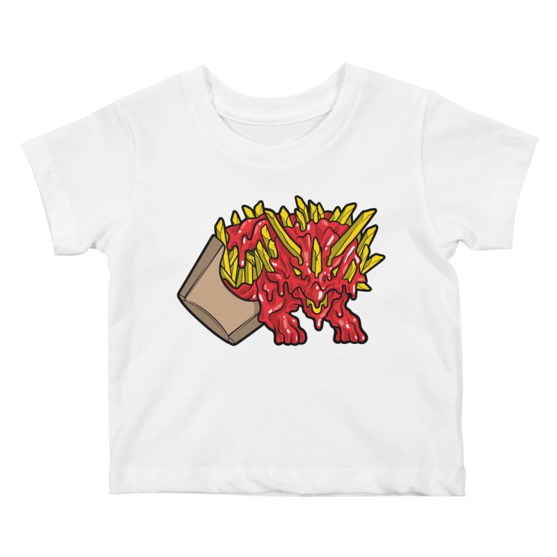 Fryceratops Kids Baby T-Shirt by Anthony Petrie Print + Product Design