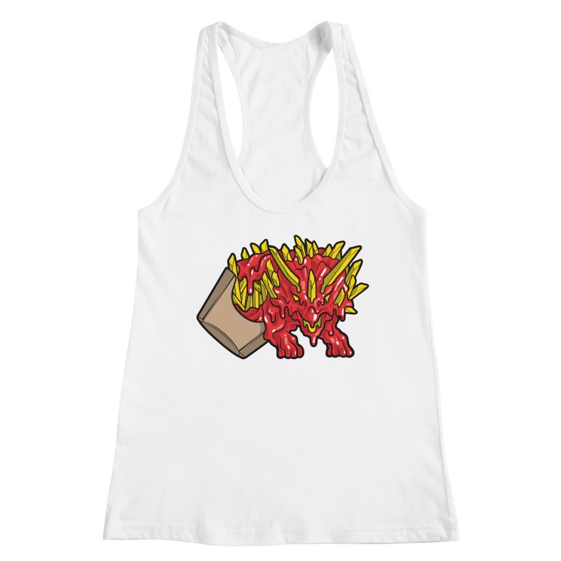 Fryceratops Women's Racerback Tank by Anthony Petrie Print + Product Design