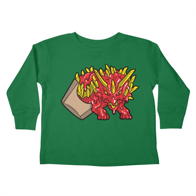 Fryceratops Kids Toddler Longsleeve T-Shirt by Anthony Petrie