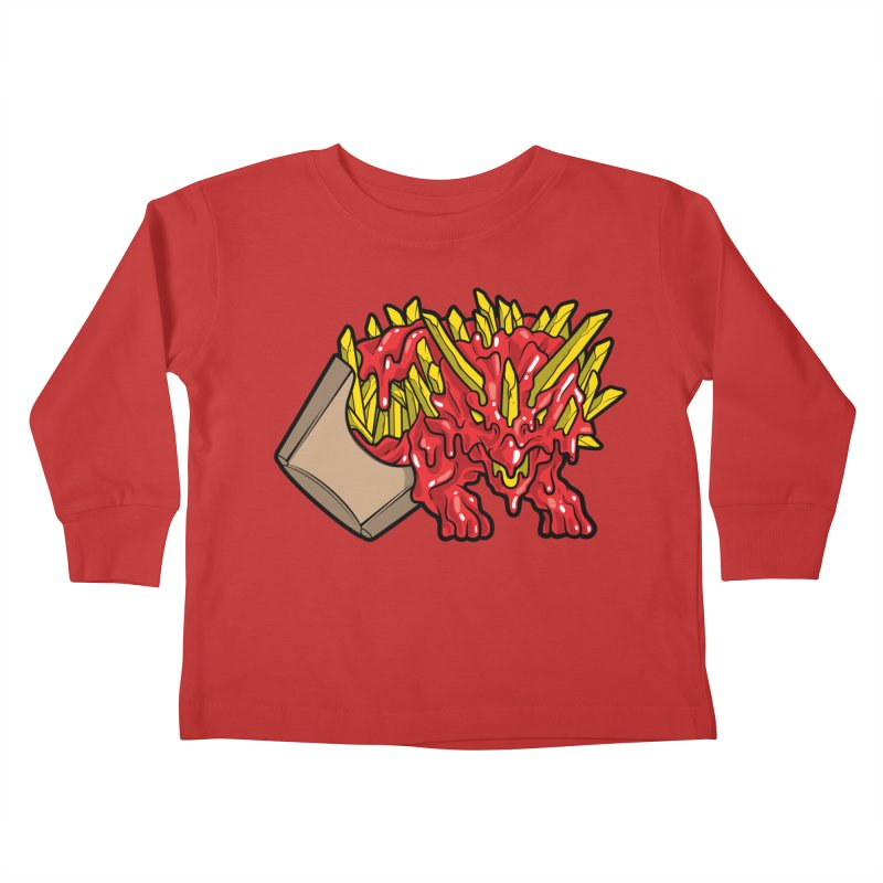 Fryceratops Kids Toddler Longsleeve T-Shirt by Anthony Petrie Print + Product Design