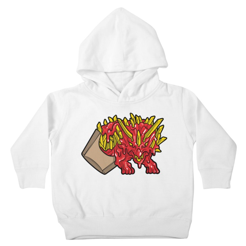 Fryceratops Kids Toddler Pullover Hoody by Anthony Petrie