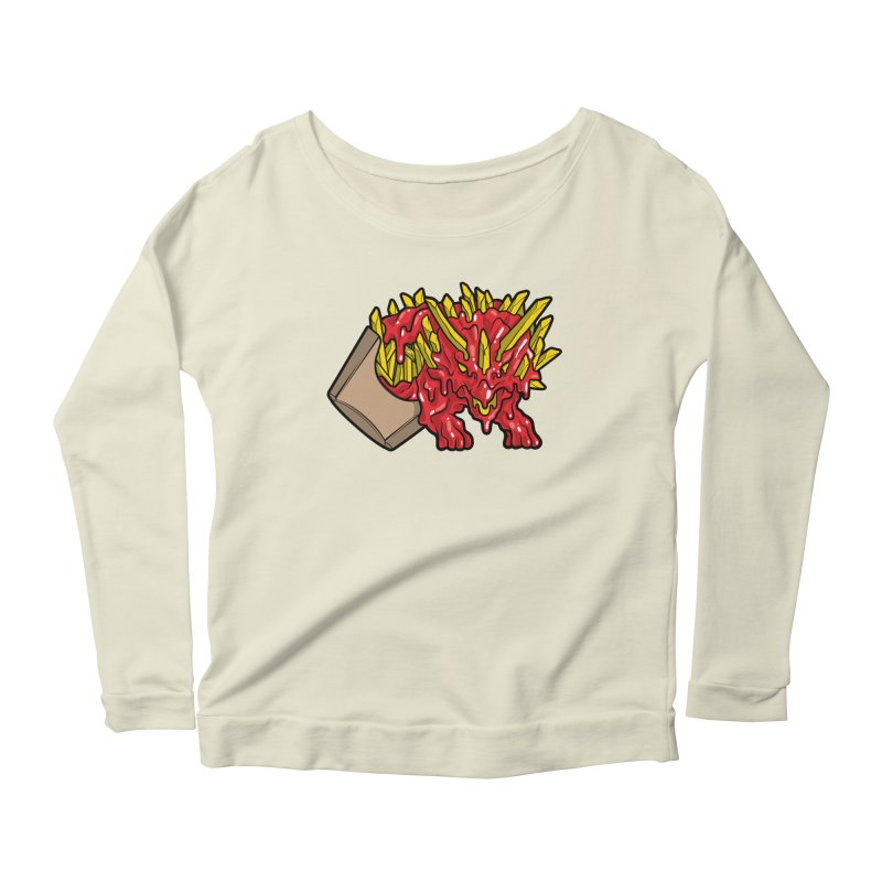 Fryceratops Women's Scoop Neck Longsleeve T-Shirt by Anthony Petrie Print + Product Design
