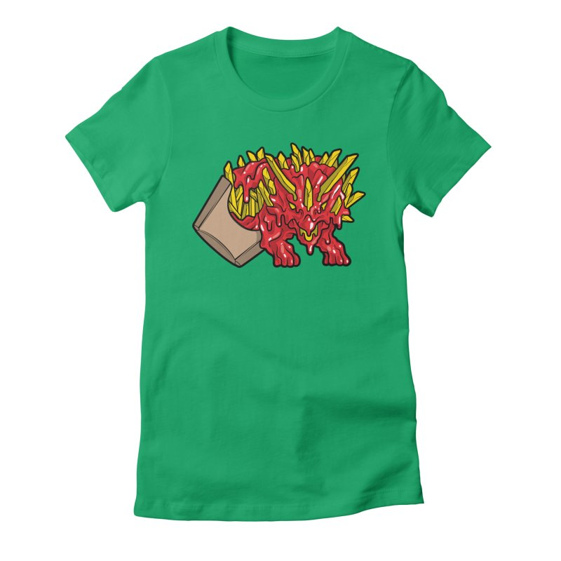 Fryceratops Women's Fitted T-Shirt by Anthony Petrie Print + Product Design