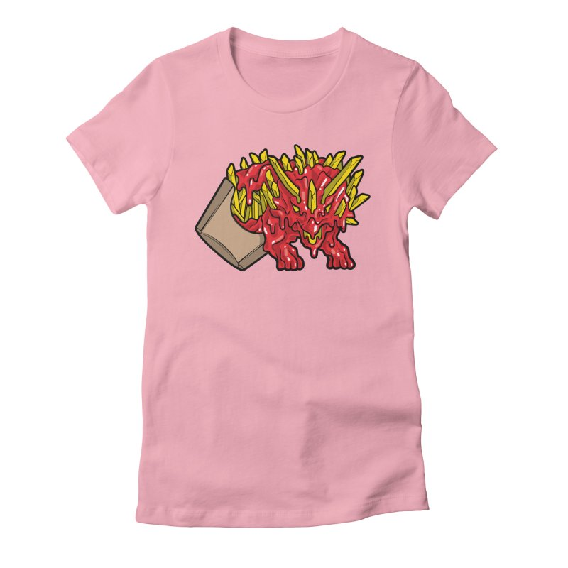 Fryceratops Women's Fitted T-Shirt by Anthony Petrie