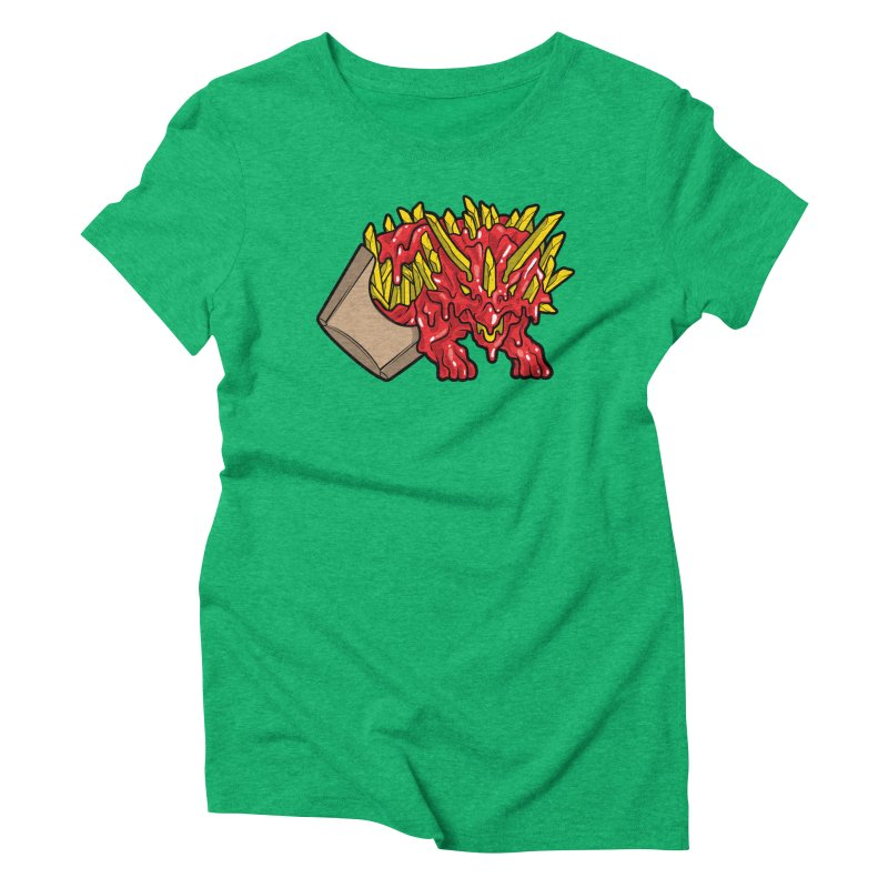 Fryceratops Women's Triblend T-shirt by Anthony Petrie