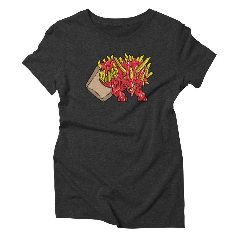 Fryceratops Women's Triblend T-Shirt by Anthony Petrie Print + Product Design