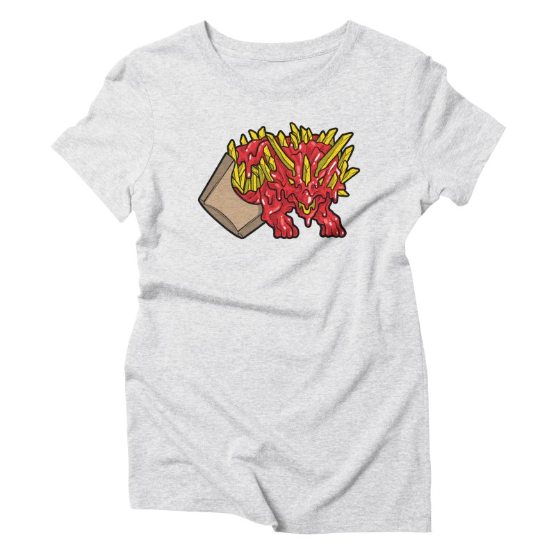 Feast Beasts - Fryceratops Women's T-Shirt by Anthony Petrie Print + Product Design