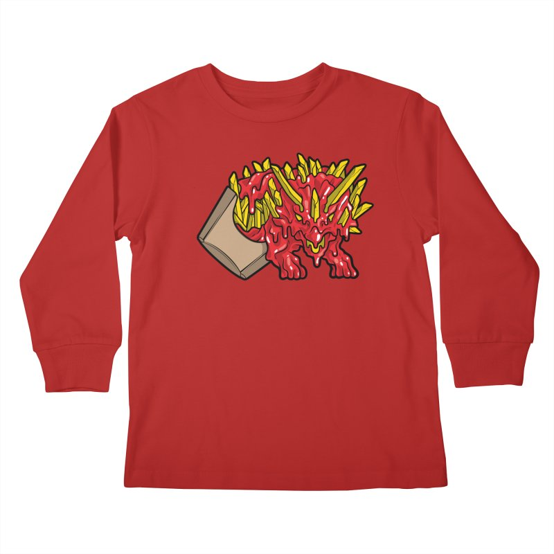 Fryceratops Kids Longsleeve T-Shirt by Anthony Petrie