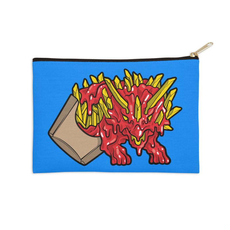Fryceratops Accessories Zip Pouch by Anthony Petrie Print + Product Design