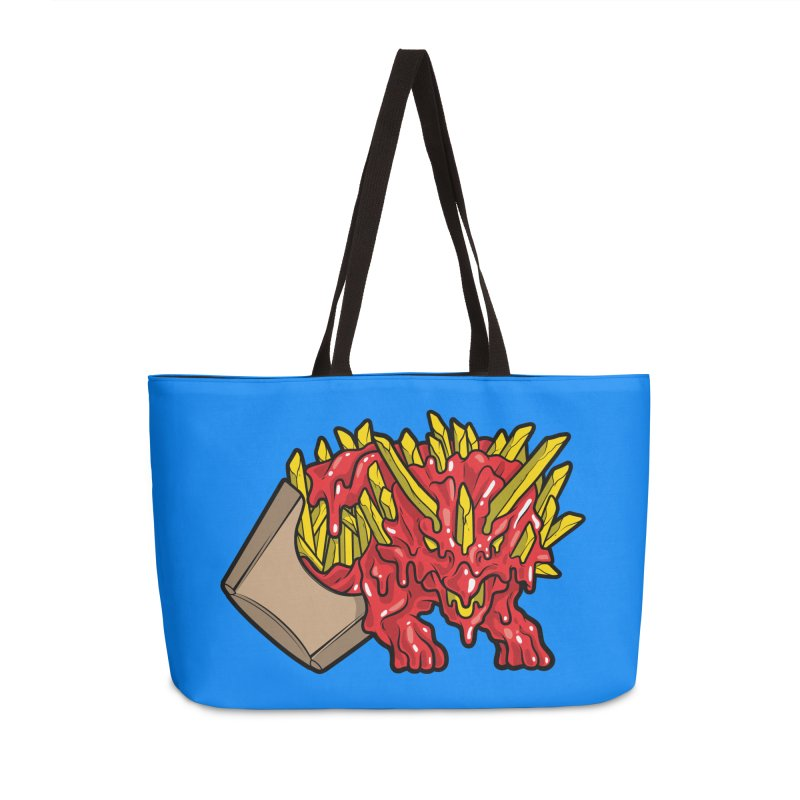 Fryceratops Accessories Weekender Bag Bag by Anthony Petrie Print + Product Design