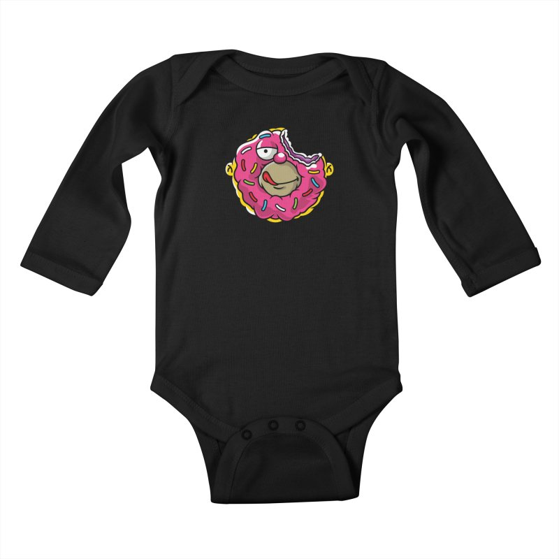 Honut Kids Baby Longsleeve Bodysuit by Anthony Petrie