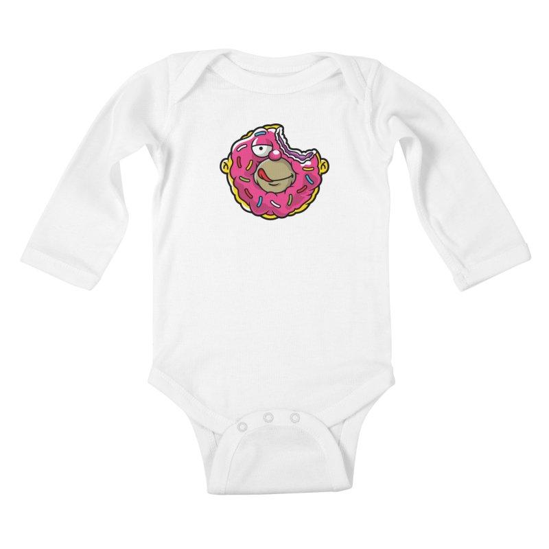 Honut Kids Baby Longsleeve Bodysuit by Anthony Petrie