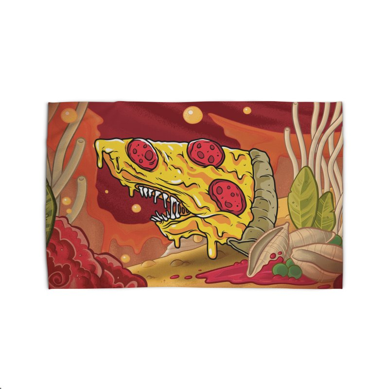Pizza Shark Home Rug by Anthony Petrie Print + Product Design