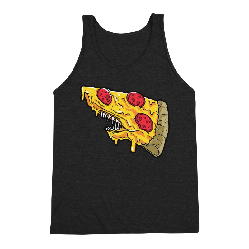 Feast Beasts - Pizza Shark Men's Tank by Anthony Petrie Print + Product Design