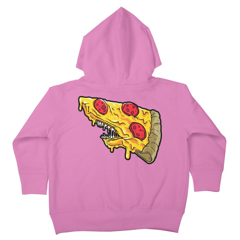 Pizza Shark Kids Toddler Zip-Up Hoody by Anthony Petrie Print + Product Design