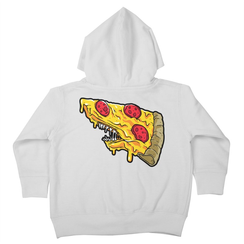 Pizza Shark Kids Toddler Zip-Up Hoody by Anthony Petrie