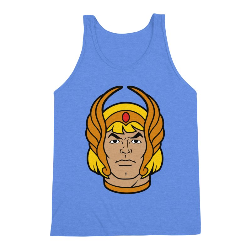 He-Ra Men's Triblend Tank by Anthony Petrie Print + Product Design
