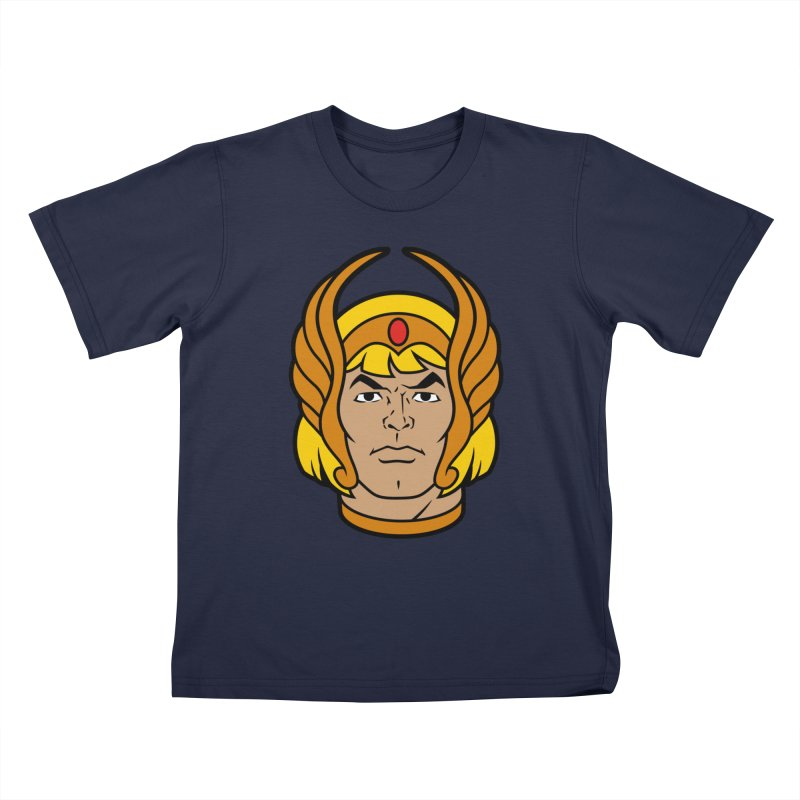 He-Ra Kids T-Shirt by Anthony Petrie Print + Product Design
