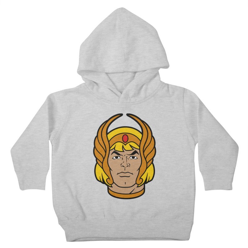 He-Ra Kids Toddler Pullover Hoody by Anthony Petrie Print + Product Design